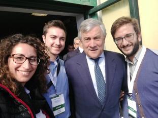 AdC con il Presidente del Parlamento Europeo A. Tajani