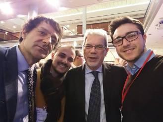 Con Prof. Becchetti e il Ministro De Vincenti